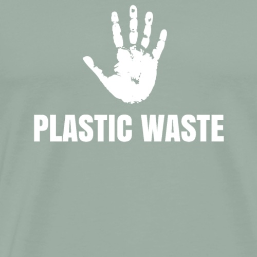 Stopp plastic waste - gift - Men's Premium T-Shirt