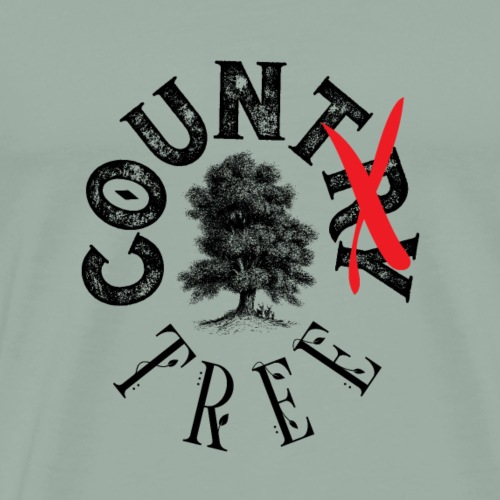 CounTREE - Men's Premium T-Shirt