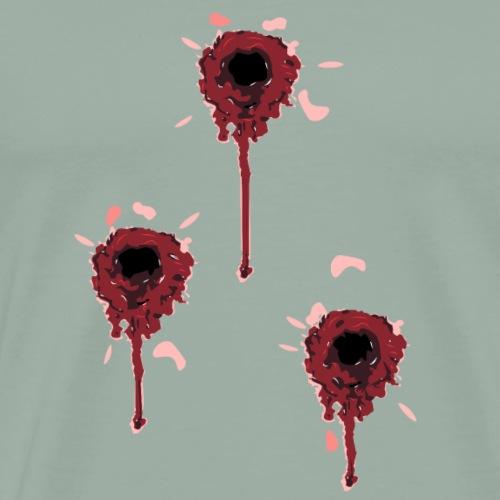 Blood Decals - Men's Premium T-Shirt
