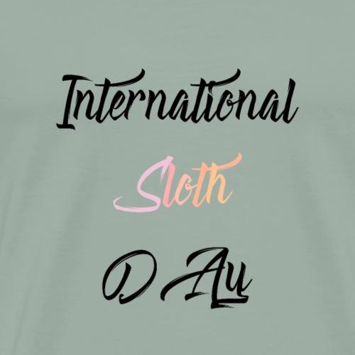 International Sloth Day - Men's Premium T-Shirt