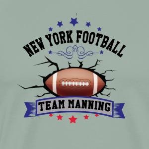 New York Football - Team Manning - Men's Premium T-Shirt