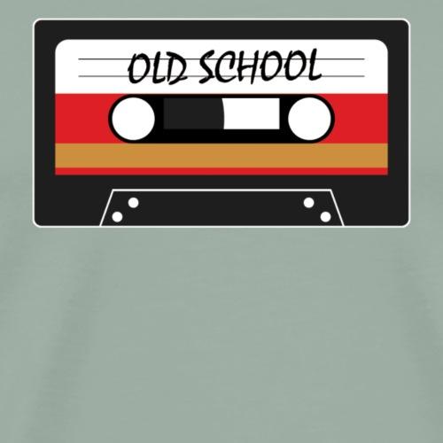 Old School Cassette Tape - Men's Premium T-Shirt