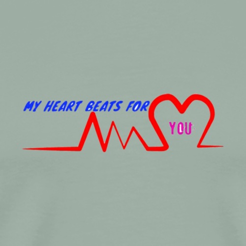 Heart Beat - Men's Premium T-Shirt