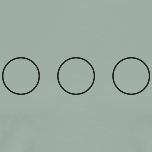 circles on your chest - Men's Premium T-Shirt
