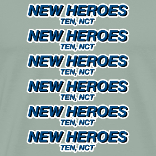 New Heroes - TEN, NCT - Men's Premium T-Shirt