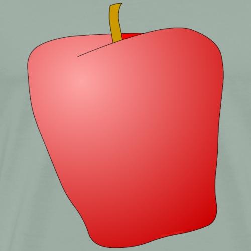 Red Apple Fruit - Men's Premium T-Shirt