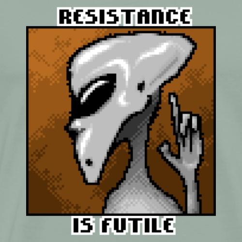 Resistance is futile! - Men's Premium T-Shirt