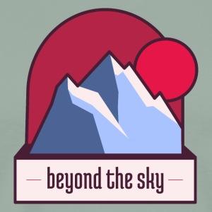 Nepal Mountain Beyond the Sky - Men's Premium T-Shirt