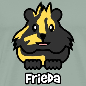 Guinea Pig Frieda - Men's Premium T-Shirt