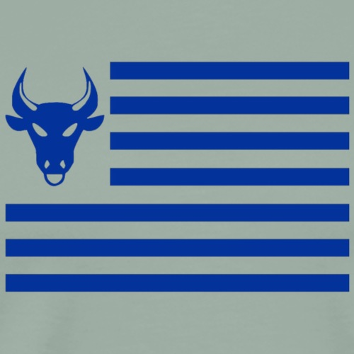 PivotBoss Flag Cobalt - Men's Premium T-Shirt