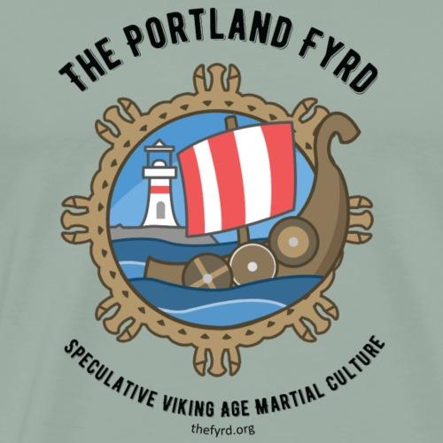 Portland Fyrd Logo Black - Men's Premium T-Shirt