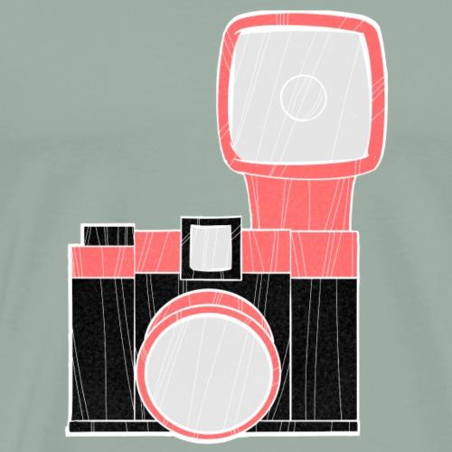 diana camera pink - Men's Premium T-Shirt
