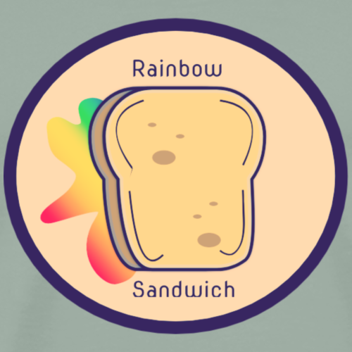 Rainbow Sandwich - Men's Premium T-Shirt