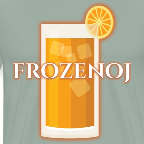 FrozenOJ Logo - Men's Premium T-Shirt
