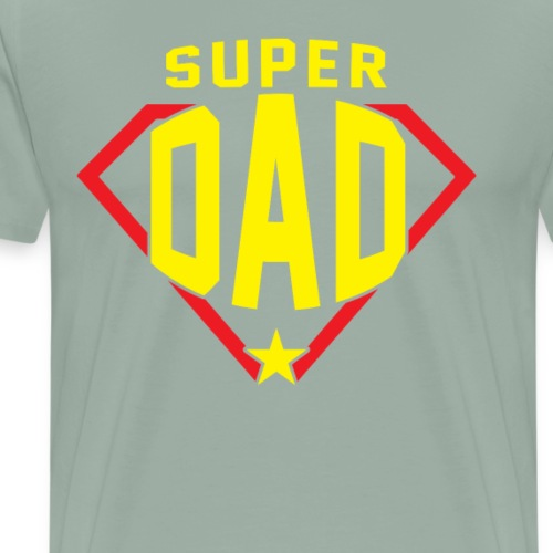 Super Dad, perfect gift shirt for Father - Men's Premium T-Shirt
