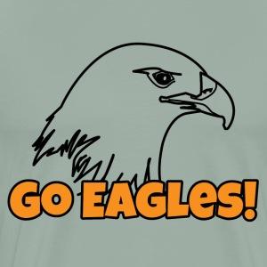 Go eagles! - Men's Premium T-Shirt