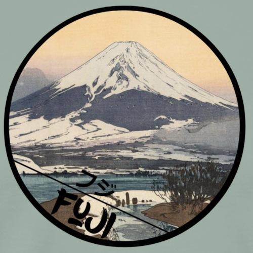 Hiroshi Yoshida Fuji from Kawaguchi Lake - Men's Premium T-Shirt
