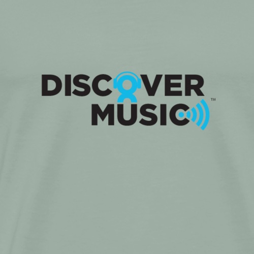 Discover Music Logo - Men's Premium T-Shirt