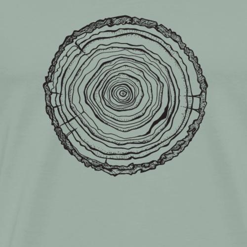 wood 1 - Men's Premium T-Shirt