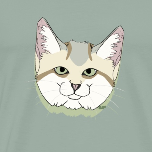 Sand Cat - Men's Premium T-Shirt