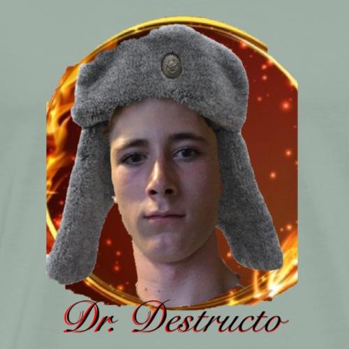 Dr Destructo V2 - Men's Premium T-Shirt
