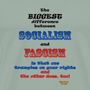 Soc vs Fasc - Men's Premium T-Shirt