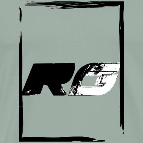 Rodrigo Gamez black square - Men's Premium T-Shirt