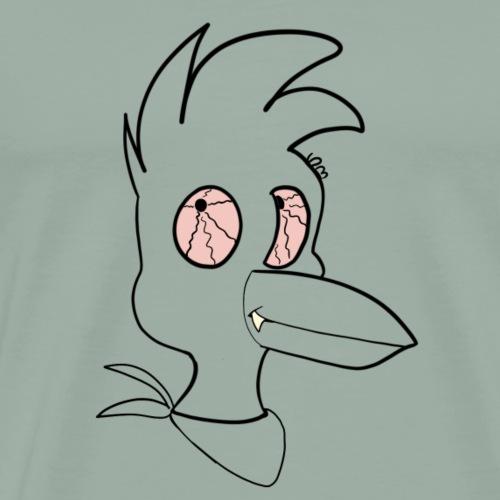 Dark cartoon chick - Men's Premium T-Shirt