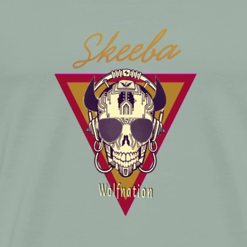 Skeeba/Wolfnation - Men's Premium T-Shirt