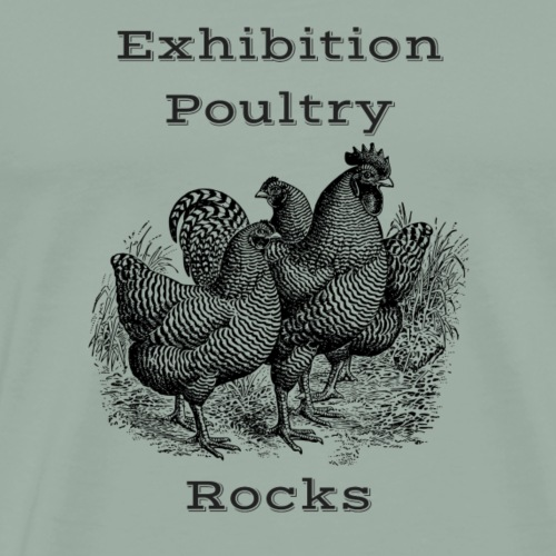 Exhibition Poultry Rocks - Men's Premium T-Shirt