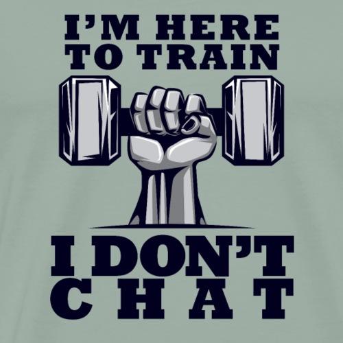 Train Chat - Men's Premium T-Shirt