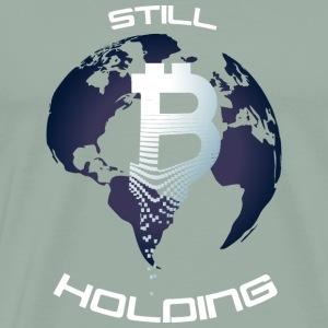 Gift Still Bitcoins Holding - Men's Premium T-Shirt
