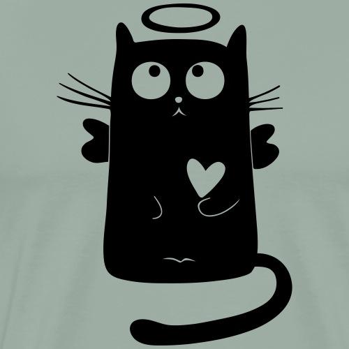 My cat angel - Men's Premium T-Shirt