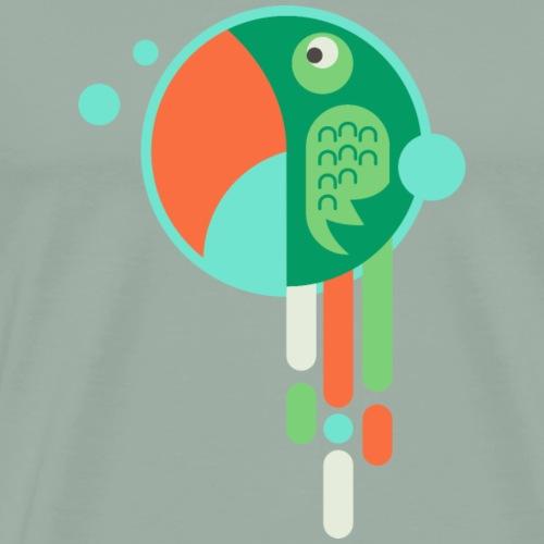 Parrots Bulp - Men's Premium T-Shirt