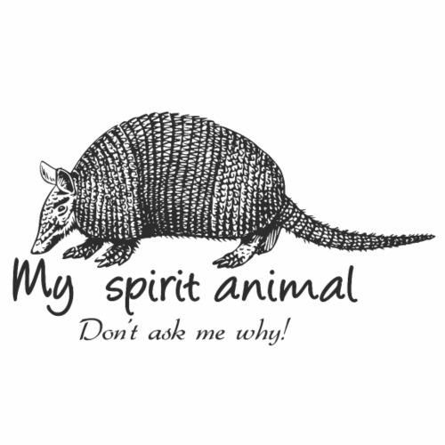Armadillo Spirit Animal - Men's Premium T-Shirt