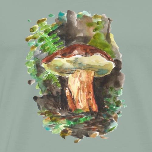 Forest / Fungi / Mushroom - Men's Premium T-Shirt