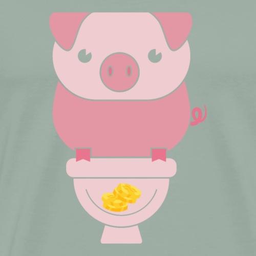 Piggy Bank - Men's Premium T-Shirt