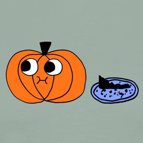 Pumpkin and Pie Tshirt - Men's Premium T-Shirt