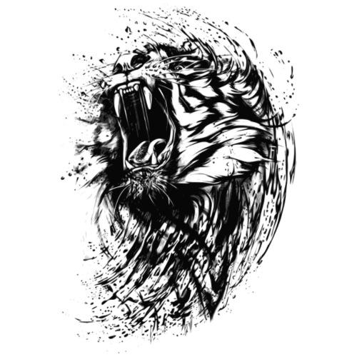 Wild Tiger - Men's Premium T-Shirt