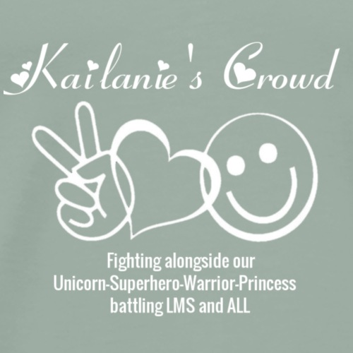 Kailanie's Crowd p, l, h - Men's Premium T-Shirt