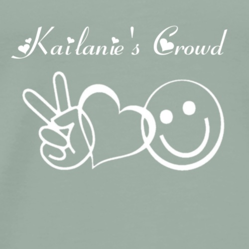 Kailanie's Crowd p, l, h 2 - Men's Premium T-Shirt