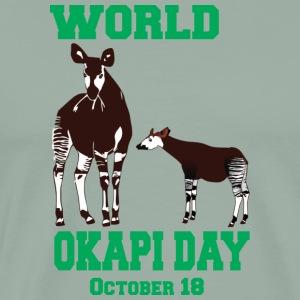 World Okapi Day - Conservation Project - Men's Premium T-Shirt