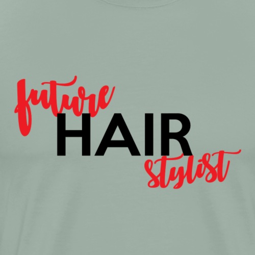 future hair stylist II - Men's Premium T-Shirt
