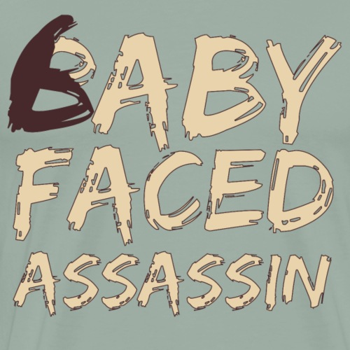 Baby Faced Assassin - Men's Premium T-Shirt