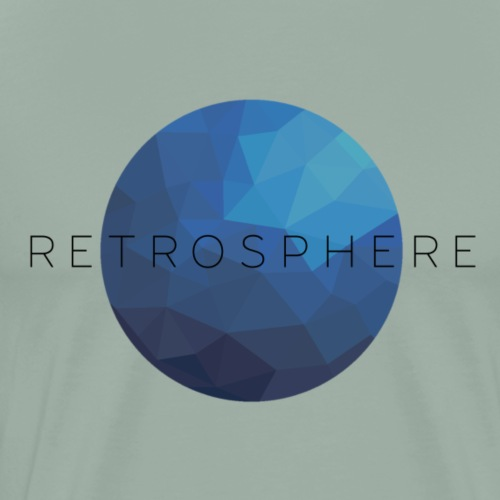 Retrosphere New Logo Blue - Men's Premium T-Shirt