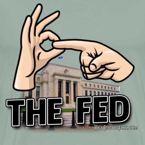 EFF THE FED - Men's Premium T-Shirt