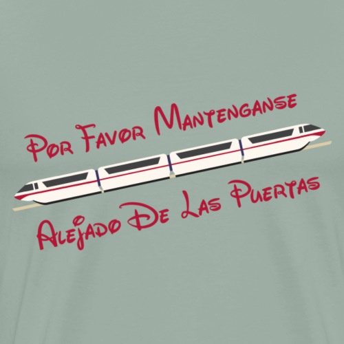 Monorail - Por Favor - Men's Premium T-Shirt