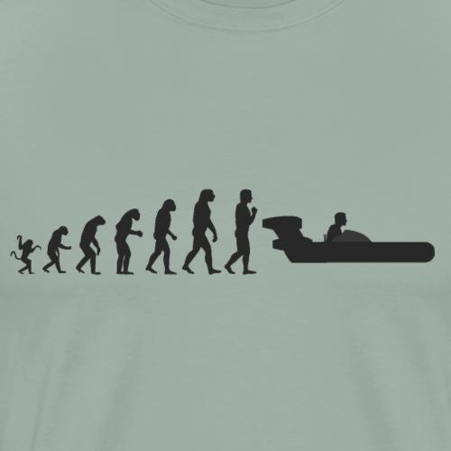 Star Wars Evolution of man : landspeeder - Men's Premium T-Shirt