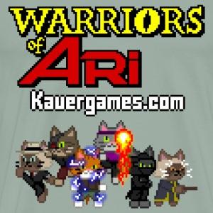 Warriors of Ari - Indie Game Art - Men's Premium T-Shirt