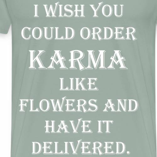 Karma - Men's Premium T-Shirt